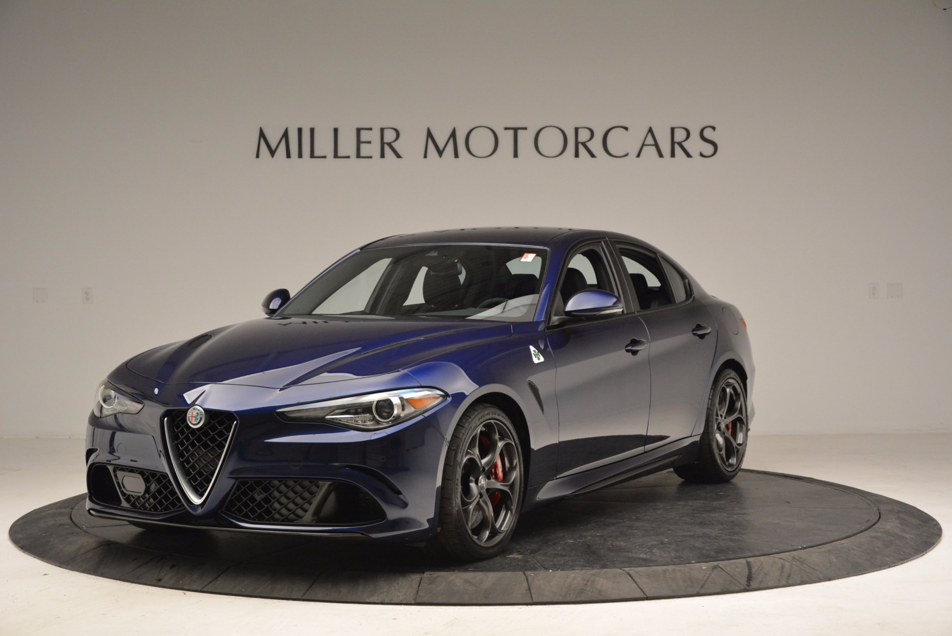 New 2017 Alfa Romeo Giulia Quadrifoglio for sale Sold at Aston Martin of Greenwich in Greenwich CT 06830 1