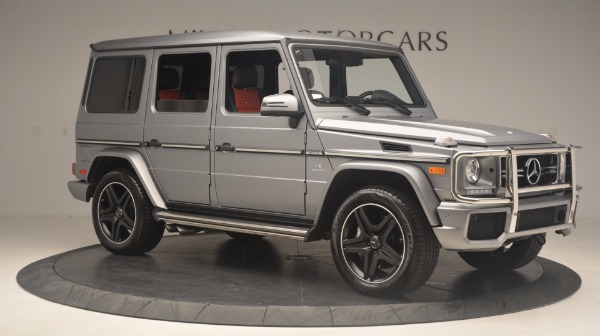 Used 2016 Mercedes Benz G-Class G 63 AMG for sale Sold at Aston Martin of Greenwich in Greenwich CT 06830 10