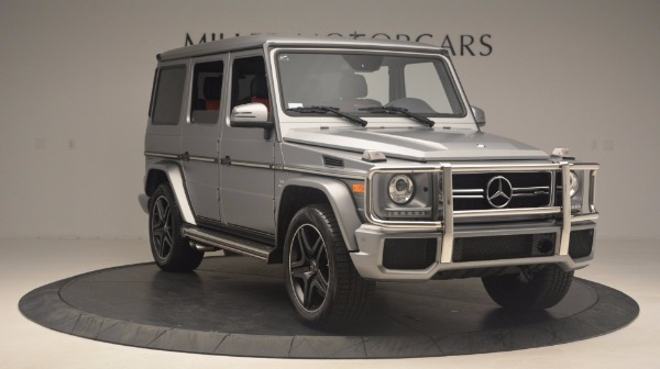 Used 2016 Mercedes Benz G-Class G 63 AMG for sale Sold at Aston Martin of Greenwich in Greenwich CT 06830 11