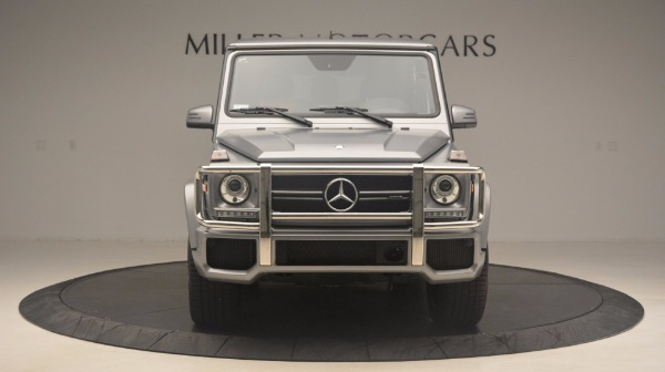 Used 2016 Mercedes Benz G-Class G 63 AMG for sale Sold at Aston Martin of Greenwich in Greenwich CT 06830 12