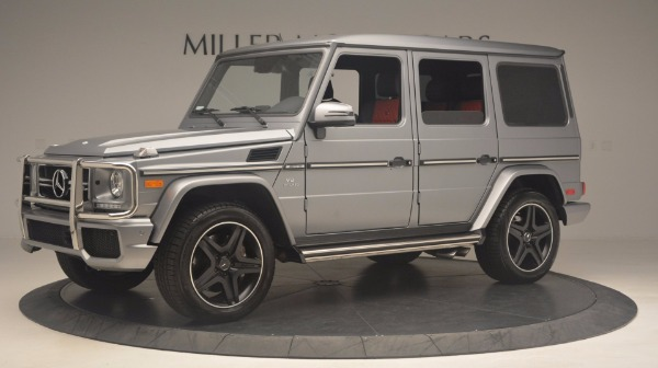 Used 2016 Mercedes Benz G-Class G 63 AMG for sale Sold at Aston Martin of Greenwich in Greenwich CT 06830 2