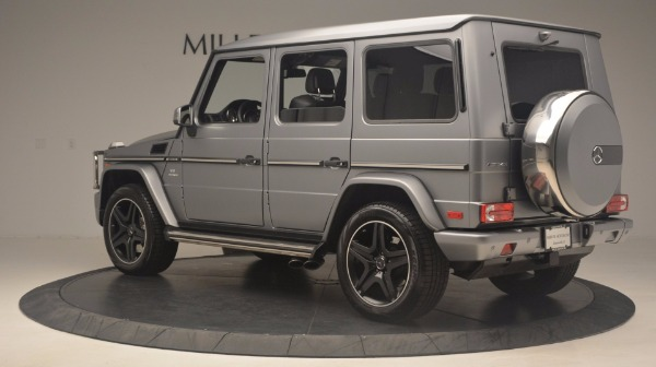 Used 2016 Mercedes Benz G-Class G 63 AMG for sale Sold at Aston Martin of Greenwich in Greenwich CT 06830 4