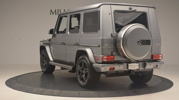Used 2016 Mercedes Benz G-Class G 63 AMG for sale Sold at Aston Martin of Greenwich in Greenwich CT 06830 5