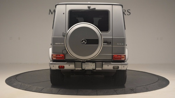 Used 2016 Mercedes Benz G-Class G 63 AMG for sale Sold at Aston Martin of Greenwich in Greenwich CT 06830 6
