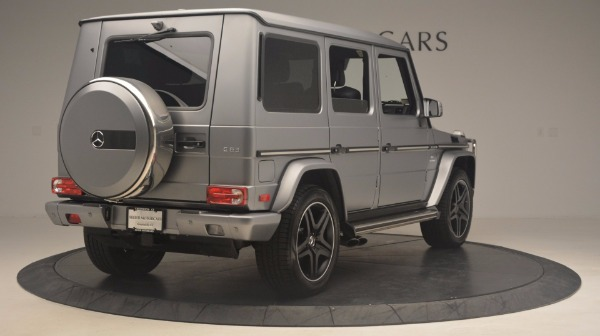 Used 2016 Mercedes Benz G-Class G 63 AMG for sale Sold at Aston Martin of Greenwich in Greenwich CT 06830 7