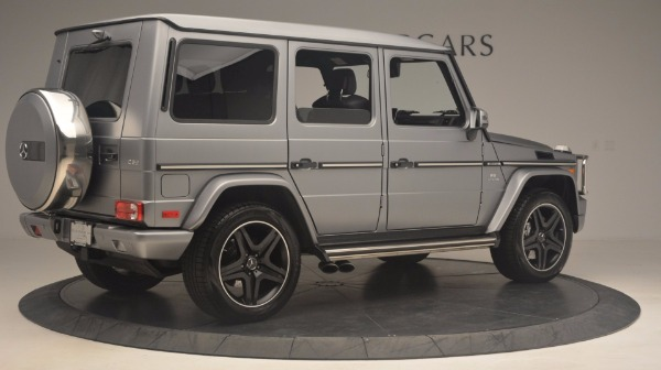 Used 2016 Mercedes Benz G-Class G 63 AMG for sale Sold at Aston Martin of Greenwich in Greenwich CT 06830 8