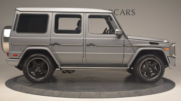 Used 2016 Mercedes Benz G-Class G 63 AMG for sale Sold at Aston Martin of Greenwich in Greenwich CT 06830 9