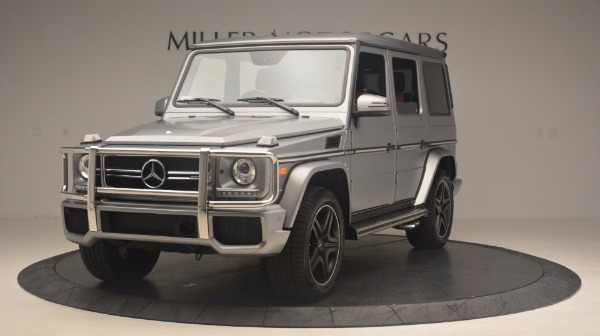 Used 2016 Mercedes Benz G-Class G 63 AMG for sale Sold at Aston Martin of Greenwich in Greenwich CT 06830 1
