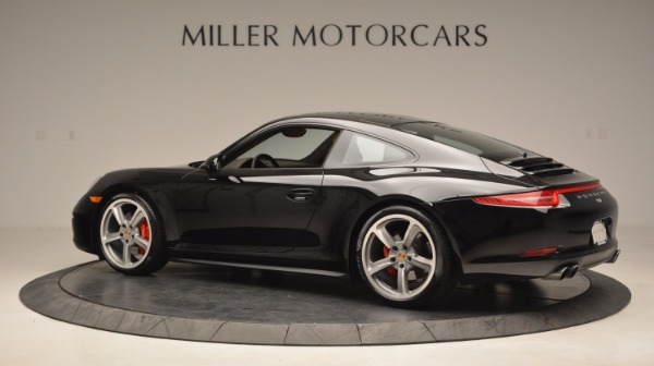 Used 2014 Porsche 911 Carrera 4S for sale Sold at Aston Martin of Greenwich in Greenwich CT 06830 4