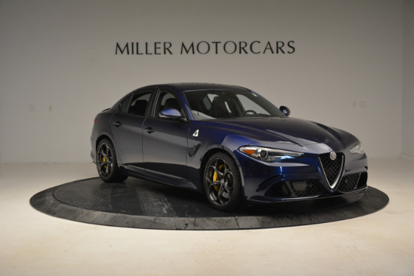 Used 2017 Alfa Romeo Giulia Quadrifoglio for sale Sold at Aston Martin of Greenwich in Greenwich CT 06830 11