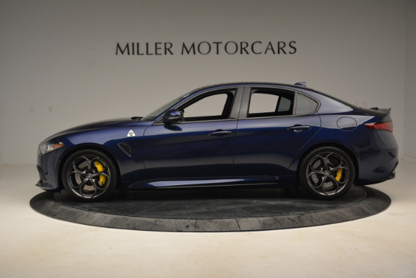 Used 2017 Alfa Romeo Giulia Quadrifoglio for sale Sold at Aston Martin of Greenwich in Greenwich CT 06830 3