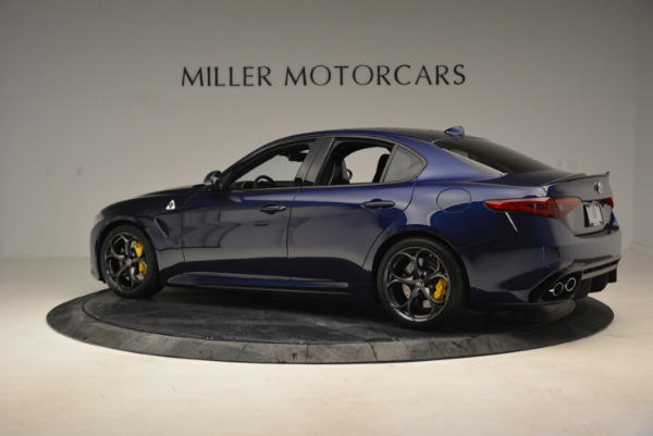 Used 2017 Alfa Romeo Giulia Quadrifoglio for sale Sold at Aston Martin of Greenwich in Greenwich CT 06830 4