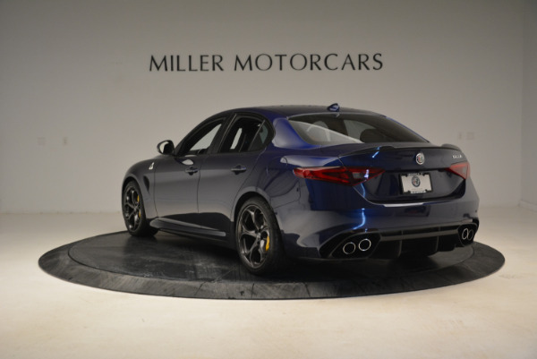 Used 2017 Alfa Romeo Giulia Quadrifoglio for sale Sold at Aston Martin of Greenwich in Greenwich CT 06830 5