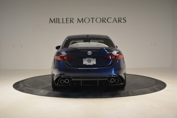 Used 2017 Alfa Romeo Giulia Quadrifoglio for sale Sold at Aston Martin of Greenwich in Greenwich CT 06830 6