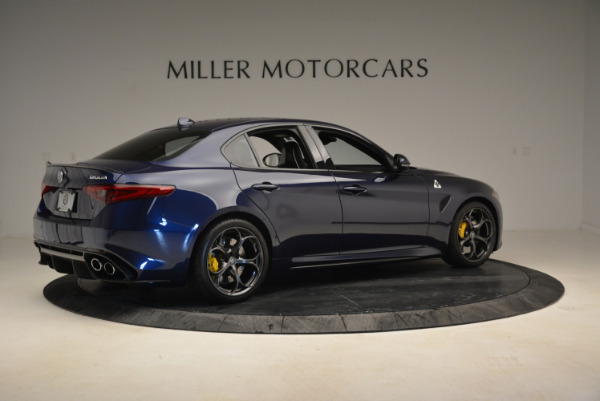 Used 2017 Alfa Romeo Giulia Quadrifoglio for sale Sold at Aston Martin of Greenwich in Greenwich CT 06830 8