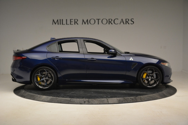 Used 2017 Alfa Romeo Giulia Quadrifoglio for sale Sold at Aston Martin of Greenwich in Greenwich CT 06830 9