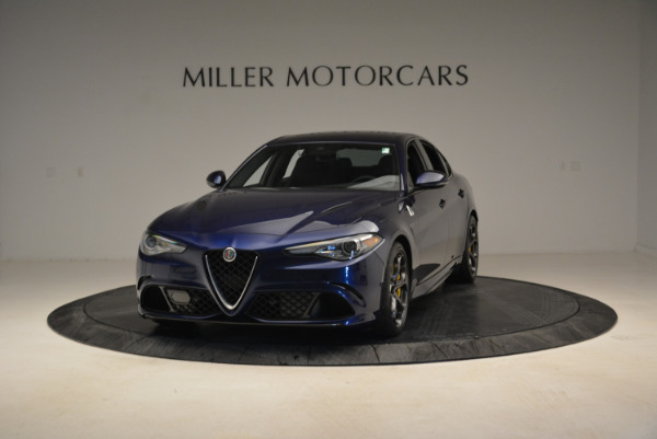Used 2017 Alfa Romeo Giulia Quadrifoglio for sale Sold at Aston Martin of Greenwich in Greenwich CT 06830 1
