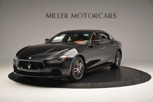 New 2017 Maserati Ghibli SQ4 S Q4 for sale Sold at Aston Martin of Greenwich in Greenwich CT 06830 1
