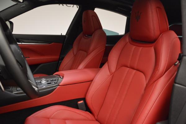 New 2017 Maserati Levante S for sale Sold at Aston Martin of Greenwich in Greenwich CT 06830 15