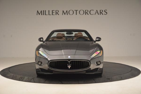 Used 2012 Maserati GranTurismo Sport for sale Sold at Aston Martin of Greenwich in Greenwich CT 06830 12
