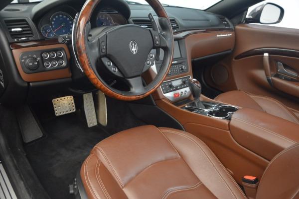 Used 2012 Maserati GranTurismo Sport for sale Sold at Aston Martin of Greenwich in Greenwich CT 06830 21