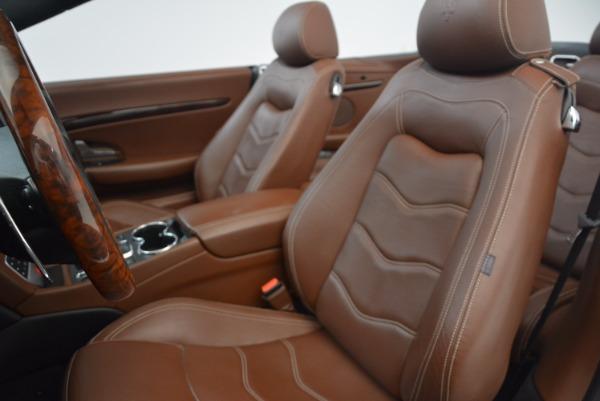 Used 2012 Maserati GranTurismo Sport for sale Sold at Aston Martin of Greenwich in Greenwich CT 06830 23