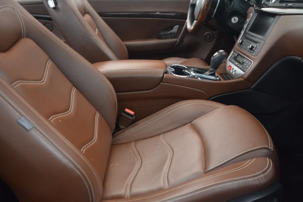 Used 2012 Maserati GranTurismo Sport for sale Sold at Aston Martin of Greenwich in Greenwich CT 06830 28