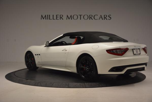 Used 2016 Maserati GranTurismo Sport for sale Sold at Aston Martin of Greenwich in Greenwich CT 06830 17