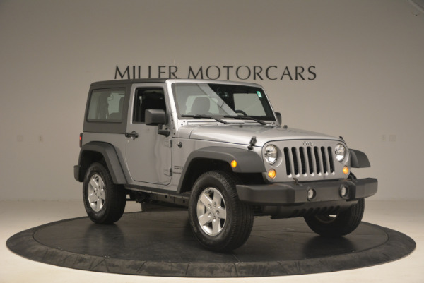 Used 2015 Jeep Wrangler Sport for sale Sold at Aston Martin of Greenwich in Greenwich CT 06830 11