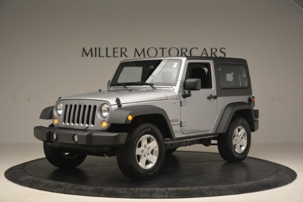 Used 2015 Jeep Wrangler Sport for sale Sold at Aston Martin of Greenwich in Greenwich CT 06830 2
