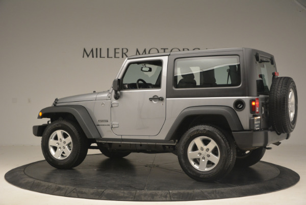 Used 2015 Jeep Wrangler Sport for sale Sold at Aston Martin of Greenwich in Greenwich CT 06830 4
