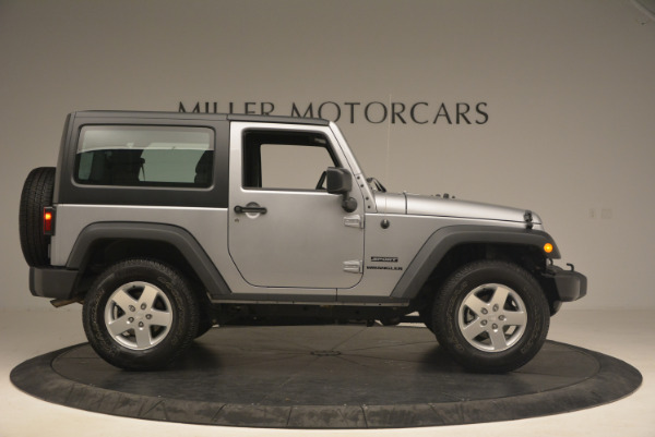 Used 2015 Jeep Wrangler Sport for sale Sold at Aston Martin of Greenwich in Greenwich CT 06830 9
