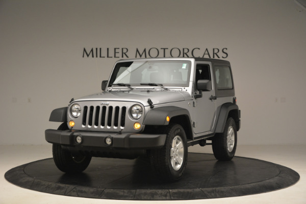 Used 2015 Jeep Wrangler Sport for sale Sold at Aston Martin of Greenwich in Greenwich CT 06830 1