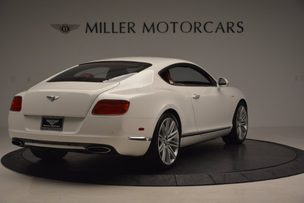 Used 2014 Bentley Continental GT Speed for sale Sold at Aston Martin of Greenwich in Greenwich CT 06830 8