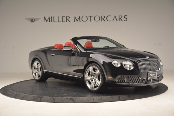 Used 2012 Bentley Continental GT W12 Convertible for sale Sold at Aston Martin of Greenwich in Greenwich CT 06830 10