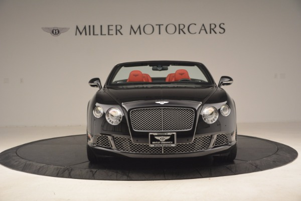 Used 2012 Bentley Continental GT W12 Convertible for sale Sold at Aston Martin of Greenwich in Greenwich CT 06830 12
