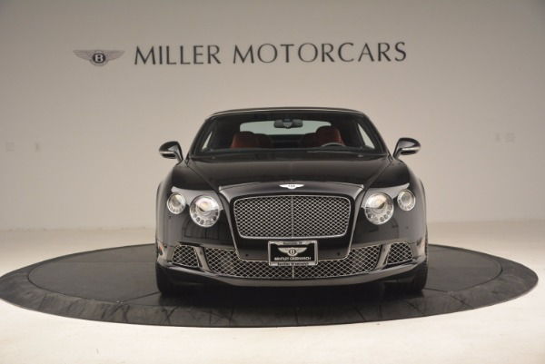 Used 2012 Bentley Continental GT W12 Convertible for sale Sold at Aston Martin of Greenwich in Greenwich CT 06830 13