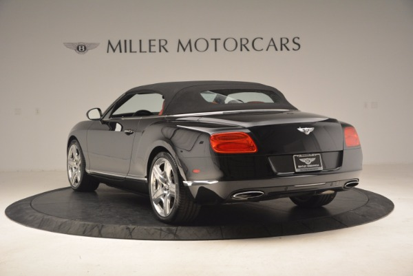 Used 2012 Bentley Continental GT W12 Convertible for sale Sold at Aston Martin of Greenwich in Greenwich CT 06830 18