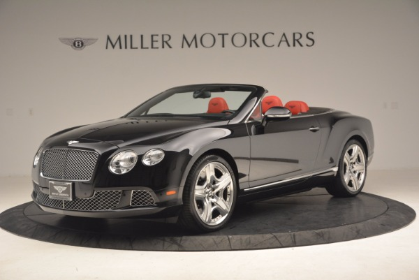Used 2012 Bentley Continental GT W12 Convertible for sale Sold at Aston Martin of Greenwich in Greenwich CT 06830 2