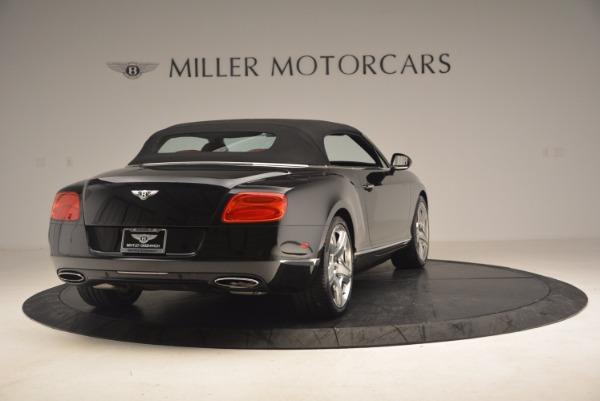 Used 2012 Bentley Continental GT W12 Convertible for sale Sold at Aston Martin of Greenwich in Greenwich CT 06830 20