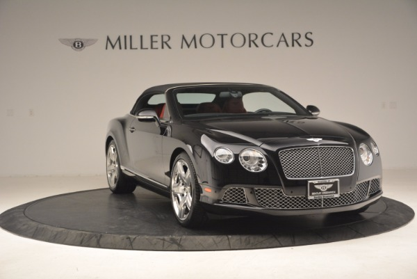 Used 2012 Bentley Continental GT W12 Convertible for sale Sold at Aston Martin of Greenwich in Greenwich CT 06830 24
