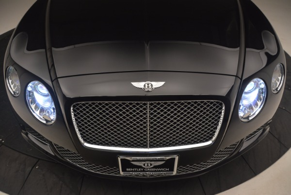 Used 2012 Bentley Continental GT W12 Convertible for sale Sold at Aston Martin of Greenwich in Greenwich CT 06830 26