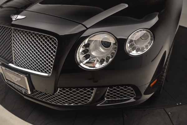 Used 2012 Bentley Continental GT W12 Convertible for sale Sold at Aston Martin of Greenwich in Greenwich CT 06830 27