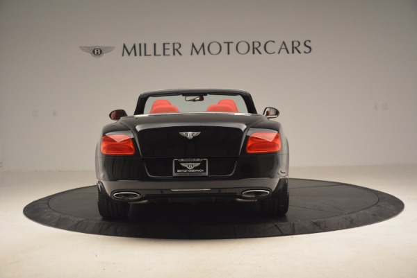 Used 2012 Bentley Continental GT W12 Convertible for sale Sold at Aston Martin of Greenwich in Greenwich CT 06830 6
