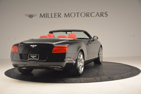Used 2012 Bentley Continental GT W12 Convertible for sale Sold at Aston Martin of Greenwich in Greenwich CT 06830 7