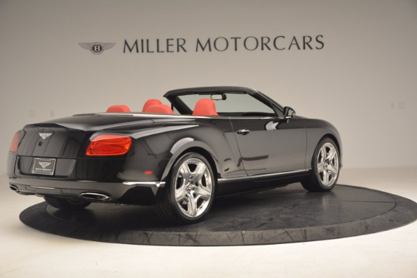 Used 2012 Bentley Continental GT W12 Convertible for sale Sold at Aston Martin of Greenwich in Greenwich CT 06830 8