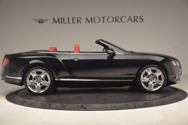 Used 2012 Bentley Continental GT W12 Convertible for sale Sold at Aston Martin of Greenwich in Greenwich CT 06830 9
