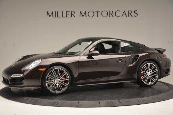 Used 2014 Porsche 911 Turbo for sale Sold at Aston Martin of Greenwich in Greenwich CT 06830 3