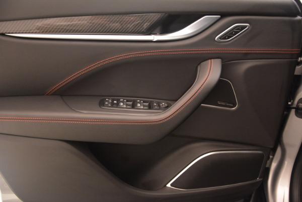 Used 2017 Maserati Levante S for sale Sold at Aston Martin of Greenwich in Greenwich CT 06830 16