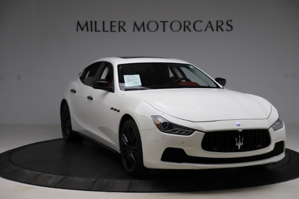 Used 2017 Maserati Ghibli S Q4 for sale Sold at Aston Martin of Greenwich in Greenwich CT 06830 11